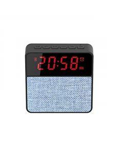 Radio portabil cu Ceas, Alarma si Bluetooth - Soundvox T1, Albastru