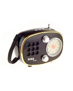 Radio cu MP3 Player cu RS-655 FM/AM/SW, USB, SD, Negru