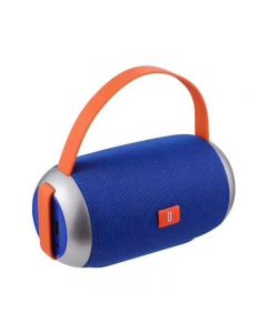 Boxa portabila Wireless, TG112, Putere 2 x 5W, cu Maner stil Poseta, Bluetooth, U Disc / TF Card / AUX / FM, Albastra