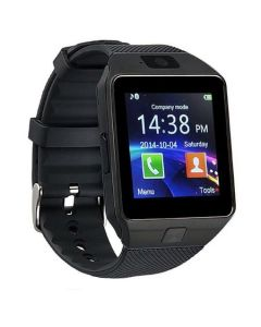 Ceas Smartwatch, BigShot X09, cu Touchscreen si Bluetooth, Camera Foto, Voice Record, Slot SIM & Card SD, Monitorizare somn, Calorii, Pedometru, WhatsApp, Facebook, Negru