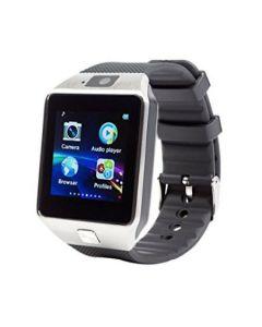 Ceas Smartwatch, BigShot X09, cu Touchscreen si Bluetooth, Camera Foto, Voice Record, Slot SIM & Card SD, Monitorizare somn, Calorii, Pedometru, WhatsApp, Facebook, Argintiu