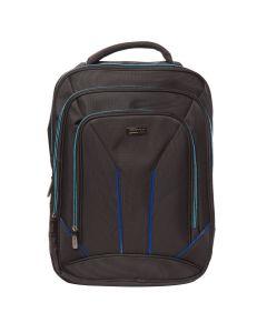 Rucsac Laptop Lamonza Toledo Negru Cu Albastru