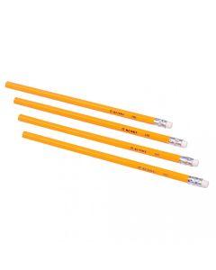 Set 4 creioane hb cu radiera Kunst