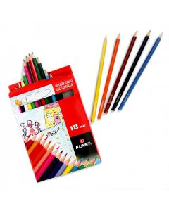 Set 18 creioane colorate Kunst