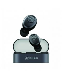 Casti Bluetooth Tellur, Sedna True, Grey