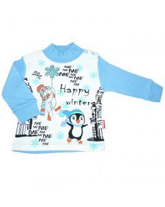 Bluza pentru baieti Happy Winter HBT181