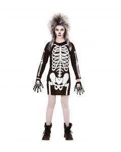 Costum Schelet Rochie Halloween Widmann