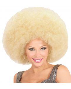 Peruca Afro Blonda Widmann
