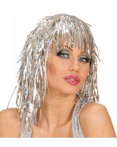 Peruca Disco Argintie Widmann