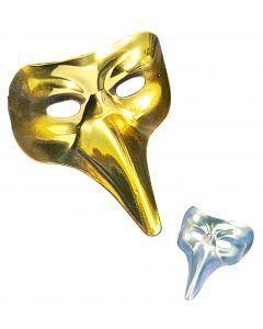 Masca Venetiana Argintie Nasone