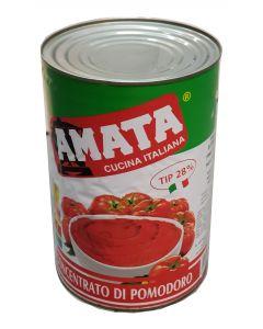 Bulion rosii Amata 4250 gr - Pasta de rosii tip 28-30%