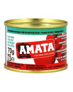 Bulion rosii Amata 70 gr - Pasta rosii tip 18-20%