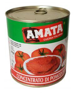 Bulion rosii Amata 800 gr - Pasta rosii tip 28-30%