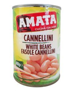 Fasole alba Cannellini Amata Italia - 400 gr