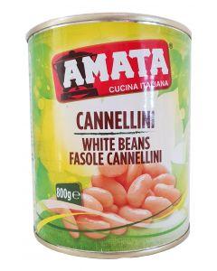 Fasole alba Cannellini Amata Italia - 800 gr