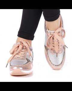 Pantofi sport dama Dorana roz, 38