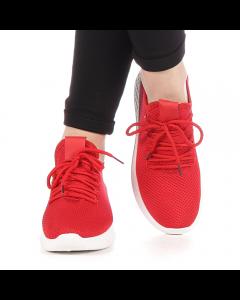 Pantofi sport dama Dono rosii, 40