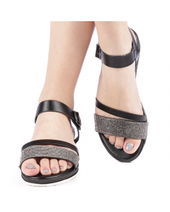 Sandale dama Paolla negre, 40