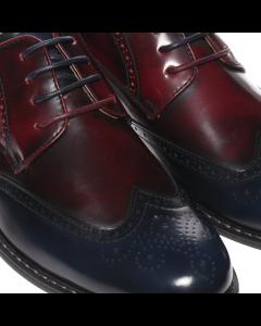 Pantofi barbati Cloven albastri, 41