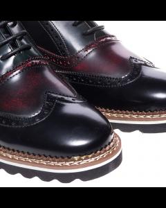 Pantofi barbati Mironos negri, 42