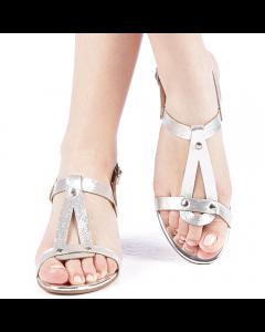 Sandale dama Klasia argintii, 39
