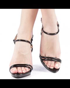 Sandale dama Drulia negre, 41