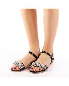 Sandale dama Jain negre, 37