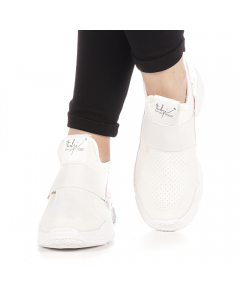 Pantofi sport dama Mohin albi, 39