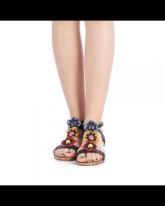 Sandale dama Lahela negre, 39