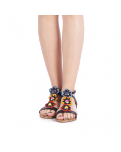 Sandale dama Lahela negre, 38