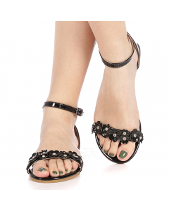 Sandale dama Covona negre, 40