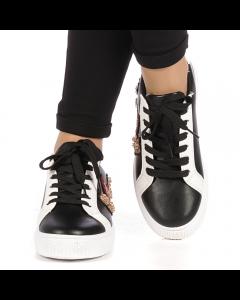Pantofi sport dama Lierda negri, 39