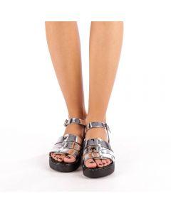 Sandale dama Pia argintii, 39