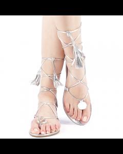 Sandale dama Bonitta argintii, 38