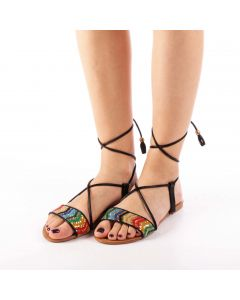 Sandale dama Imala negre, 38