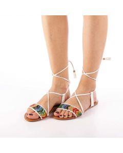 Sandale dama Imala albe, 38