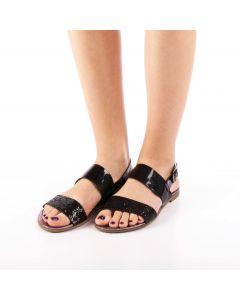 Sandale dama Kavindra negre, 39