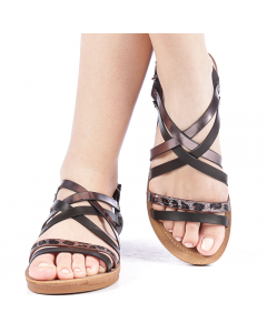 Sandale dama Ranty negre, 38