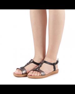 Sandale dama Plity negre, 38