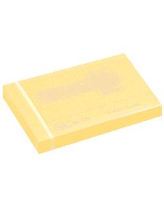 Notite Tartan galben 51x76 mm
