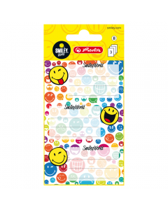 Etichete scolare Smiley World Rainbow, set 9 bucati