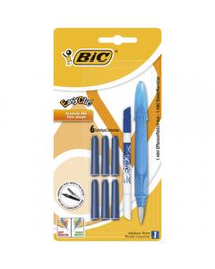 Stilou Easy Clic Standard + 6 rezerve cerneala + 1 mini PIC