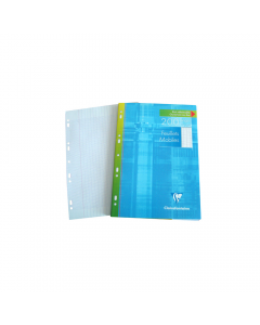 Foi albe simple multiperforate 90g/mp, 100 foi, Clairefontaine