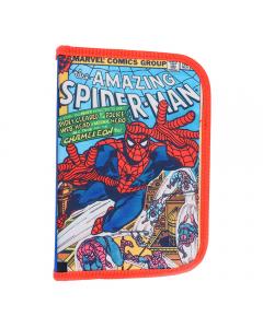 Penar Neechipat 1 fermoar 2 extensii, albastru multicolor, Marvel Spider-Man, Pigna