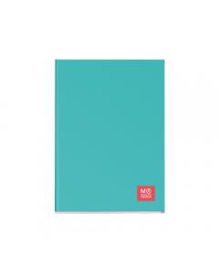 Caiet A4 matematica 80 file coperta carton plastifiat, turcoaz