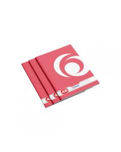Caiet matematica A4, 48 file, Rainbow, Herlitz