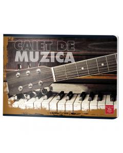Caiet muzica 24 file, Pigna Clasic