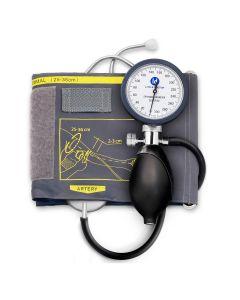 Tensiometru mecanic Little Doctor LD 81, stetoscop inclus, Manometru mare, Spatiu pentru stetoscop, Utilizare stanga-dreapta