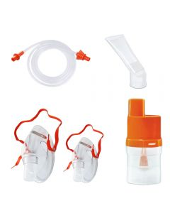 Set accesorii universale RedLine Orange pentru aparat de aerosoli nebulizator cu compresor