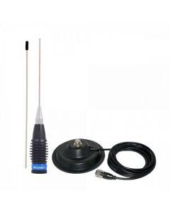 Set Antena Radio CB Megawat ML-145 cu magnet